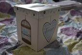 Béžová krabička na přání,