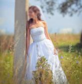 Svatební šaty 5000 kč, 36