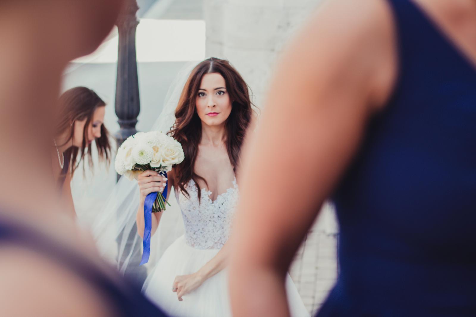 Božena Géčová a Viktor Tóth - kytica Pretty Wedding Nové Zámky