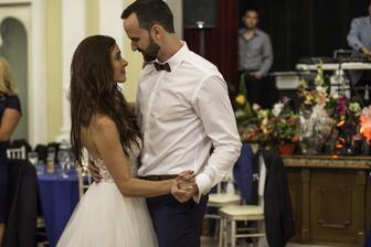 prvý tanec mladomanželov-tanečná škola VIVA Nové Zámky