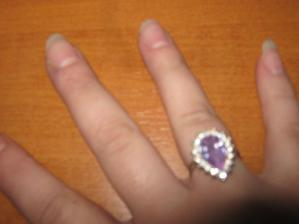 moj zasnubny prstienok:-)