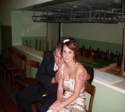 ja a moja lasocka na bratrancovej svadbe:-)