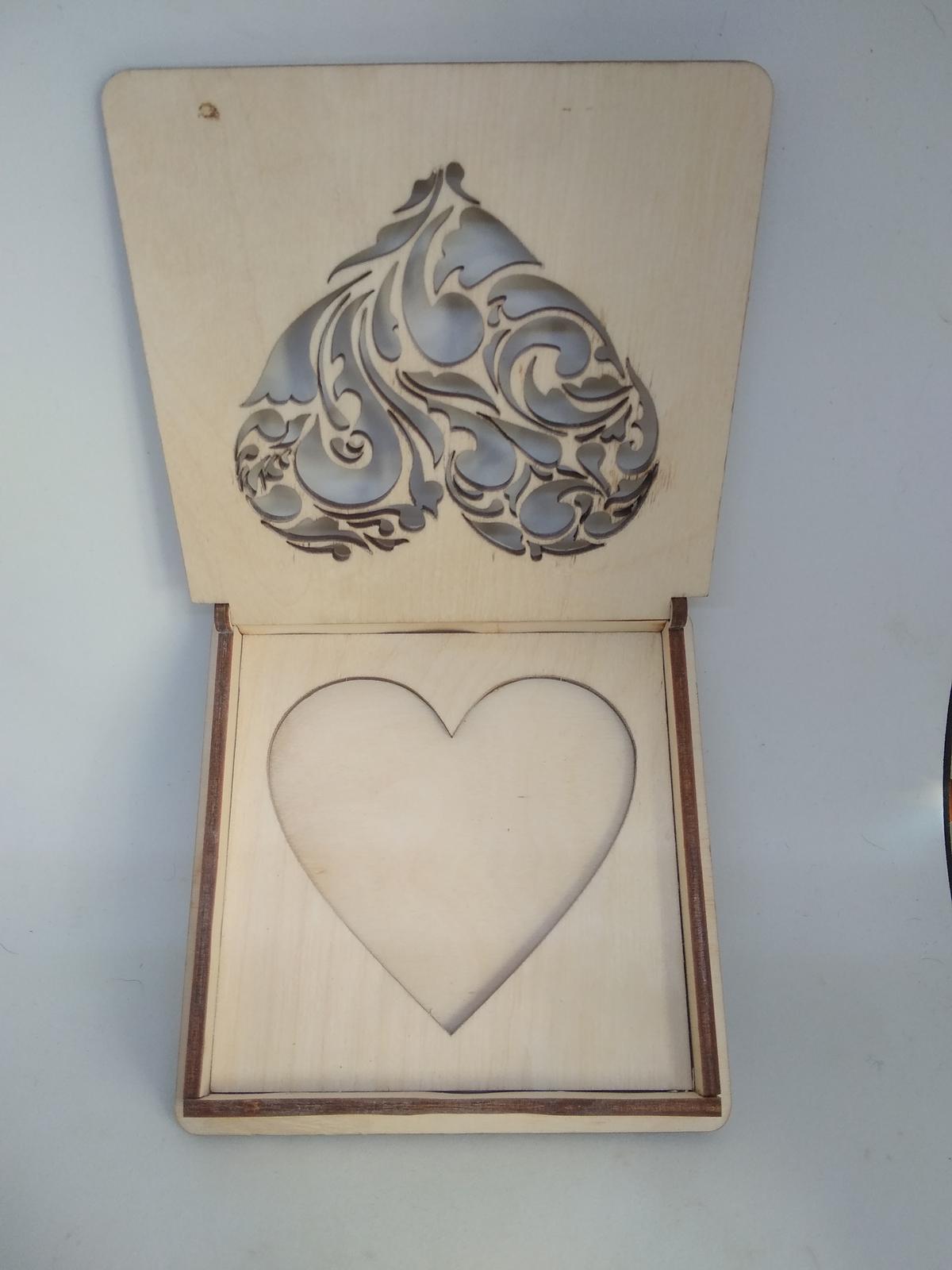 Krabička na prstýnky  - Obrázek č. 2