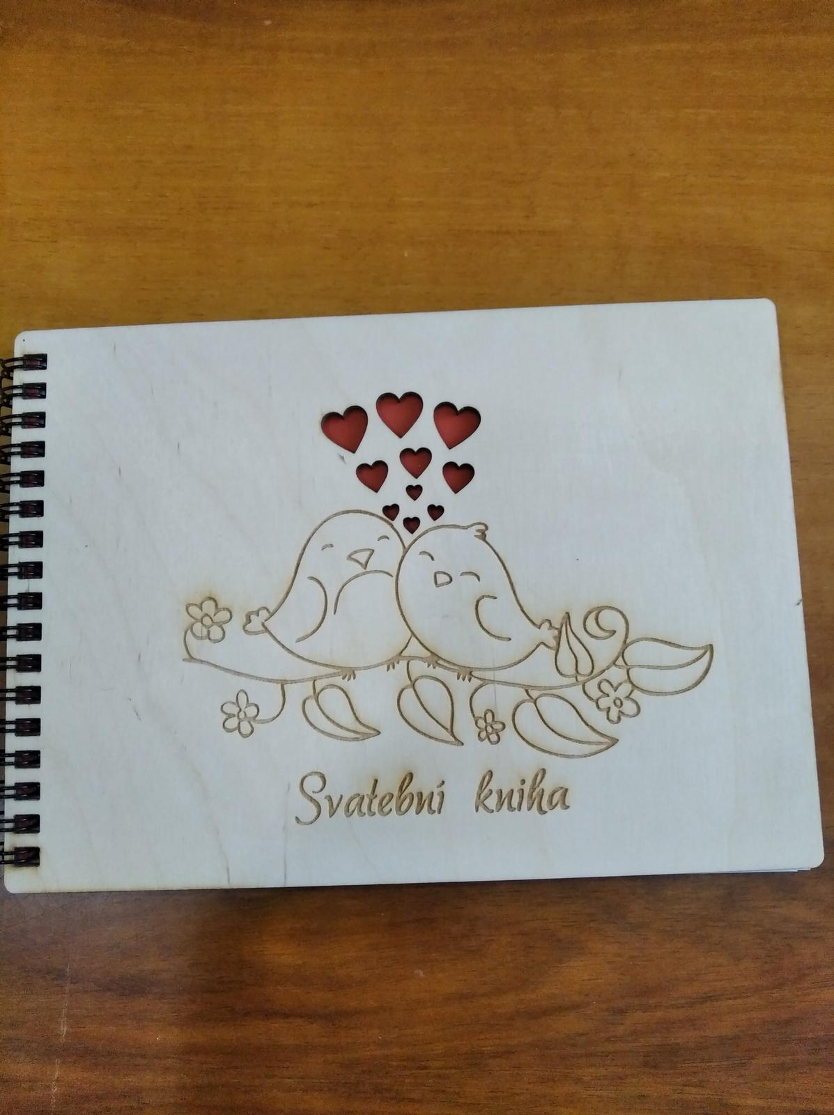 Svatební kniha A5 - Obrázek č. 1