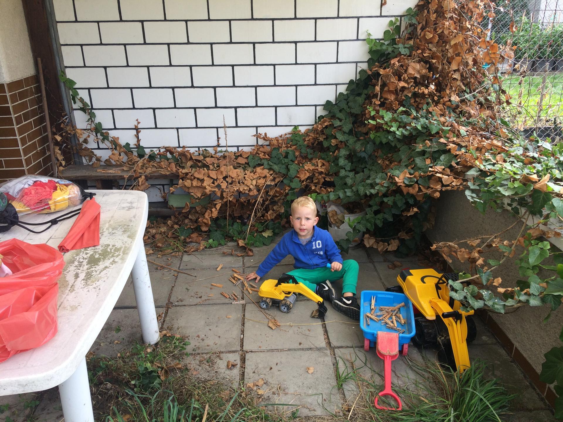 Náš sen bydlení ve vlastním 🏡🍀 - Nejmladší pomocník ❤️😊