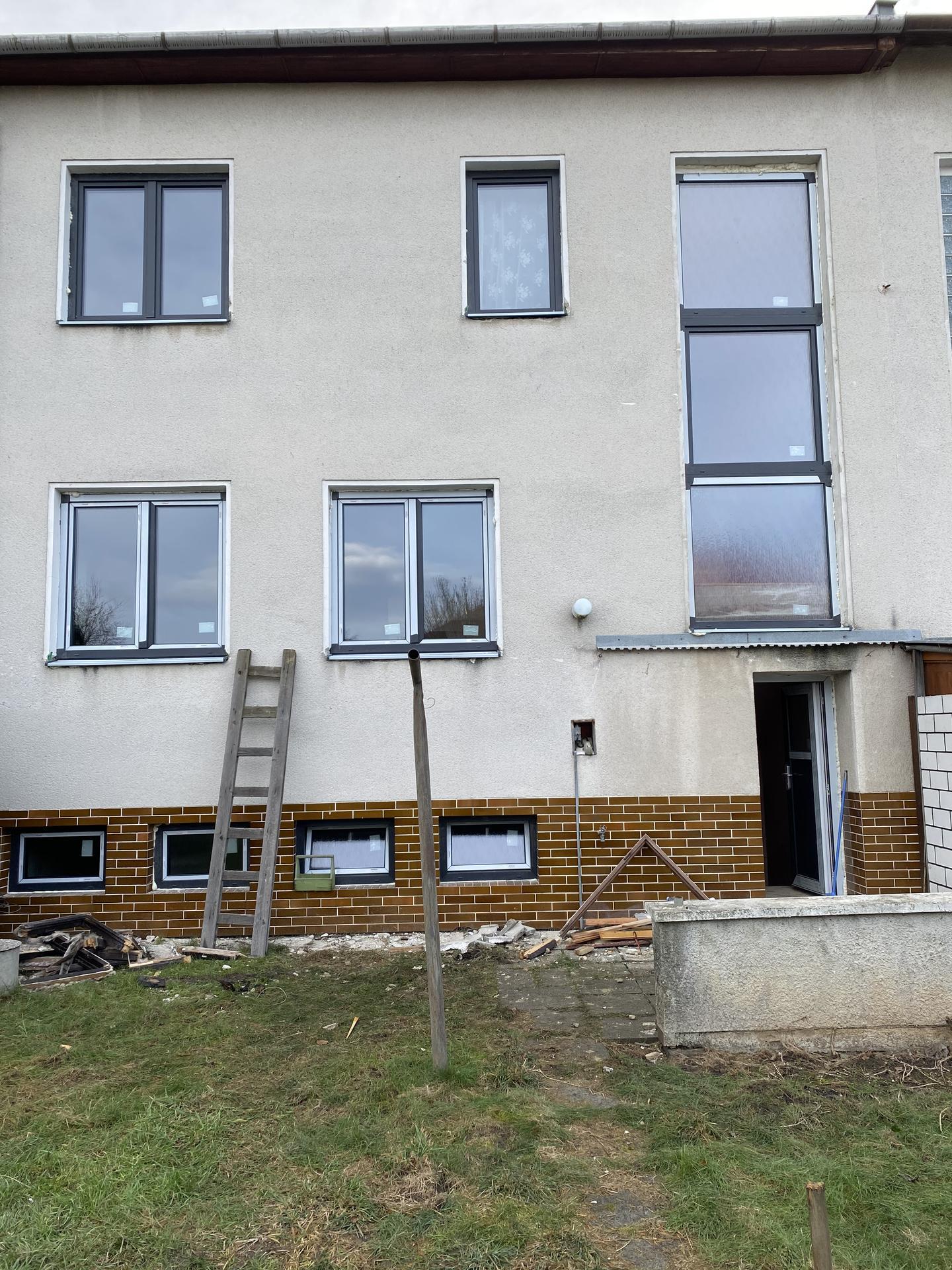 Náš sen bydlení ve vlastním 🏡🍀 - Luxfery vybourány,nahrazeny oknem 💪😊