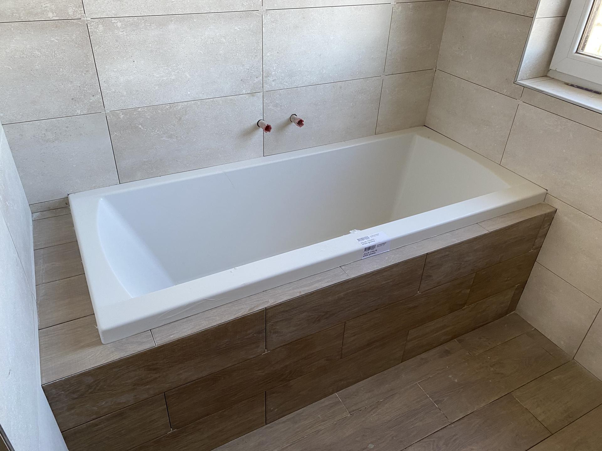Náš sen bydlení ve vlastním 🏡🍀 - Ten pocit,kdy se těšíte na první koupel 😍