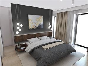 Spálňa + šatník