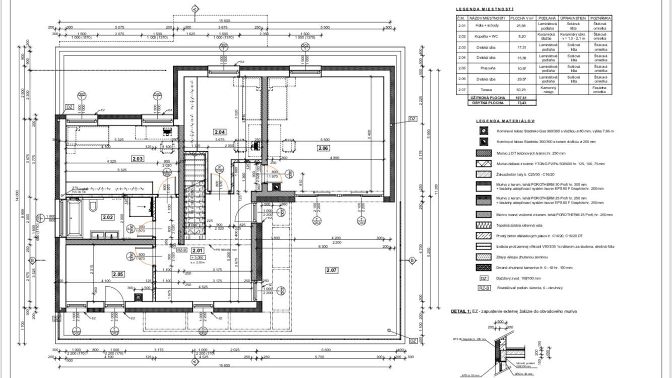 Stavba toho nášho 🏡 - Zmena druheho poschodia:) pribudne este jedna izba, terasa sa nam zdala zbytocne velke a nevyuzita