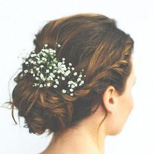 Svatební účes - Markéta Dvořáková (zařízeno) - foto na ukázku, líbí se mi :)