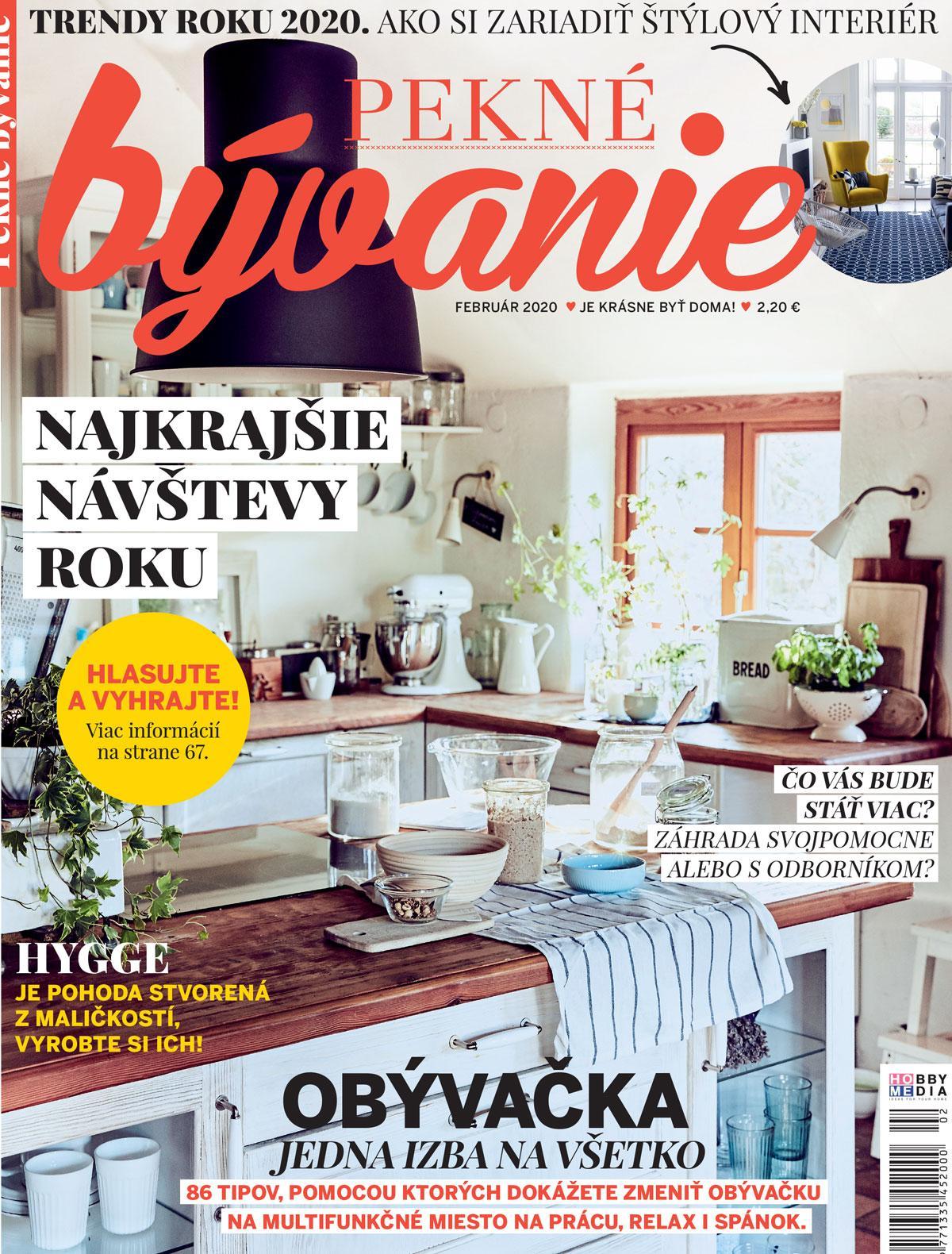 pekne_byvanie - Pekné bývanie február 2020
