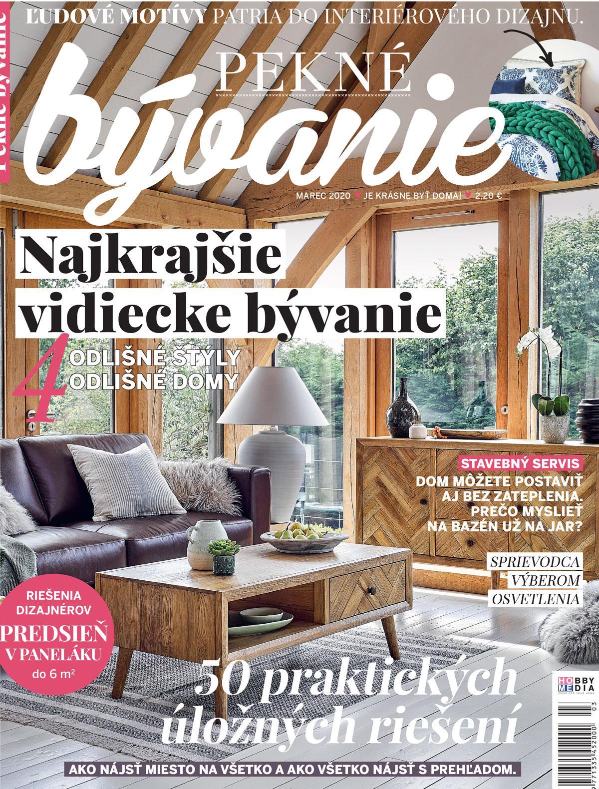 pekne_byvanie - Pekné bývanie marec 2020