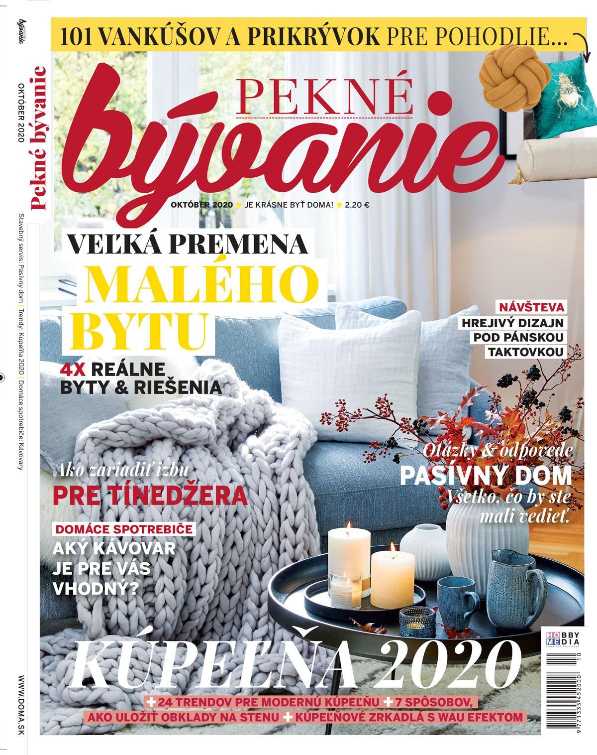pekne_byvanie - Pekné bývanie október 2020