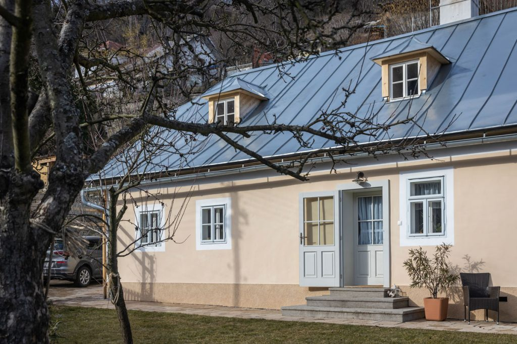 Sen o dokonalom bývaní si splnili v baníckom dome - Banícky dom v Banskej Štiavnici.