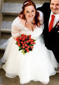 Svatební šaty pro plnoštíhlou nevěstu, 48