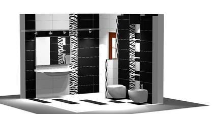 Takáto bude kúpeľňa ešte s menšími úpravami.