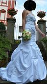 Originalní vyšívané šaty, 36