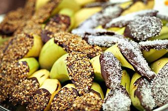 tak to je supr nápad jak ozdobit svatební banán:-)