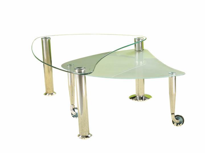 Konferencny stolik k nasej sedacke...inspiracie a rady - samozrejme ak tento tak s chromovymi nozickami