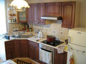 Nasa druha kuchyna...nova...pouzivana najma svokrou :-)