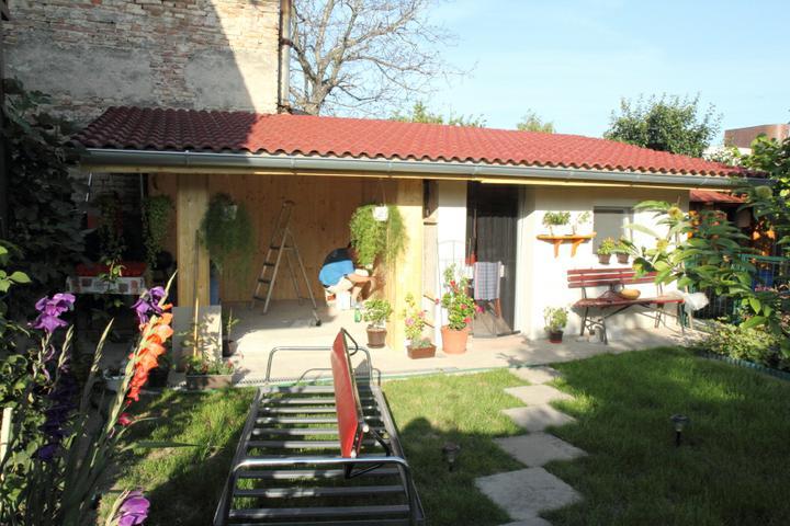 Nas domcek - prestavba - altanok a letna kuchynka