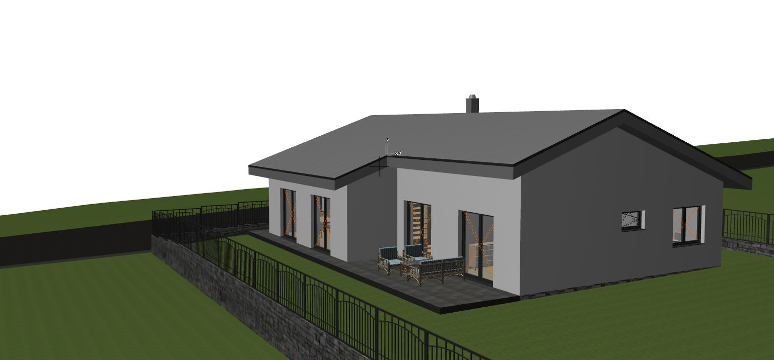 Konečne sme začali - Vizualizácia nášho domu