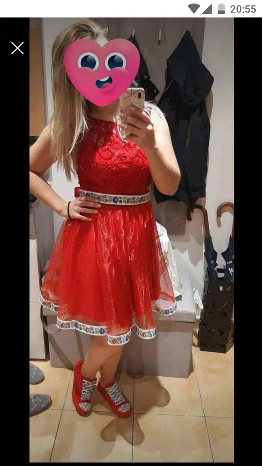 šaty na redovy/popolnocne saty - Obrázok č. 1