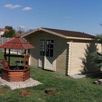 zahradný domček chatka rennes 4x3m - Obrázok č. 1