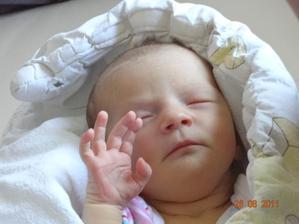 ...a 24.8.2011 se z naší velké lásky narodila LÁSKA...ta největší ze všech možných...naše dcera Emily Victoria ♥