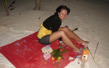 tady jsem byla 14.2.2009 požádána o ruku - pod hvězdným nebem na nádherné plaži v Dominikánské Republice