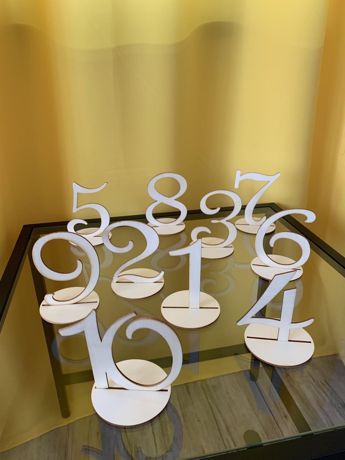 drevené čísla - Obrázok č. 1