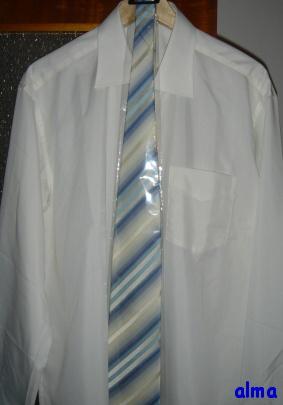 Košile - Blažek, kravata - na Chodově