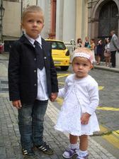 taky jako nevěsta a ženich :-)