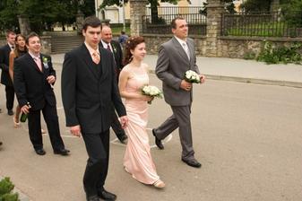 jdou pro nevěstu