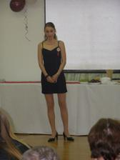 Romiho sesternica Alenka nam naadherne zaspievala Ave Mariu - zozala riaadny aplauz! :o)