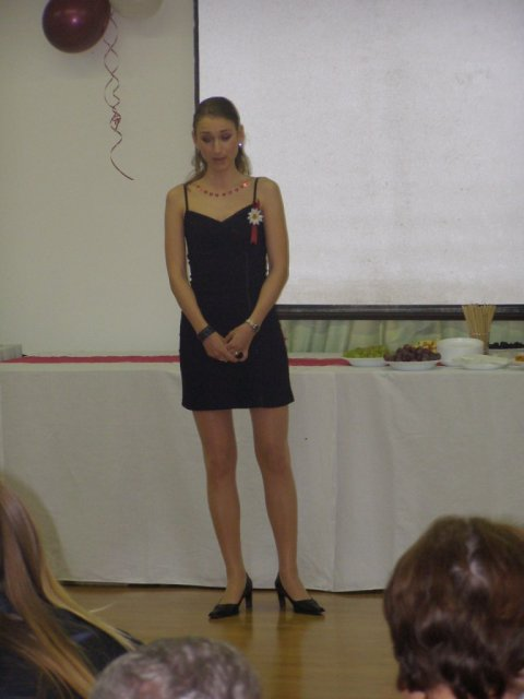 Mirka{{_AND_}}Roman - Romiho sesternica Alenka nam naadherne zaspievala Ave Mariu - zozala riaadny aplauz! :o)