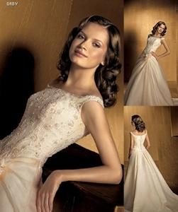 BEJU - moje svadobné šaty na modelke- Pronovias IBIZA 2005