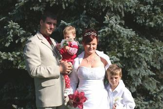 Štastná rodinka