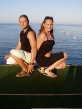 To jsme my dva letos na Rhodosu. Tam  mě můj miláček požádal o ruku :-)
