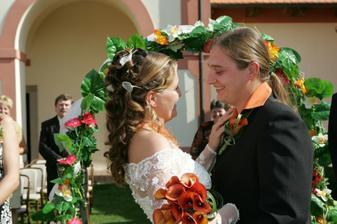 Všichni svatebčané se tomu smáli :-)