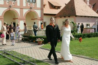 Naše 1.společná procházka :-)