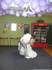 Závěr 1.novomanželského tance