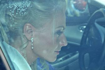 Příjezd nevěsty...