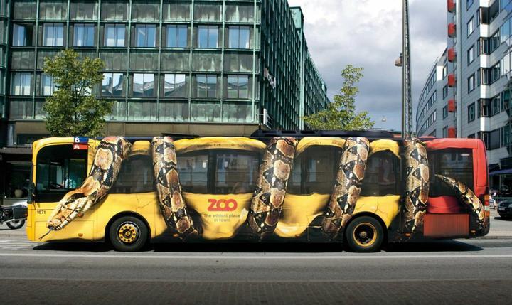 Bez slov a pre zábavu. - Kreatívna reklama (Koppenhagen ZOO)