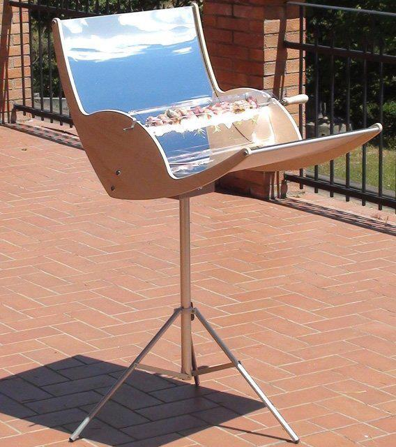 Bez slov a pre zábavu. - Solar Barbecue Grill