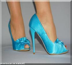 tyrkysové topánočky