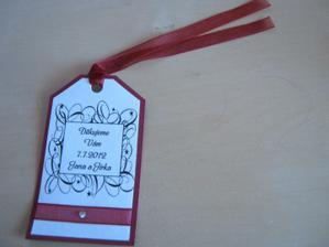děkovné kartičky k výslužkám