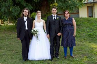 my dva na svatbě mojí svědkyně Lenky 20.8.2011