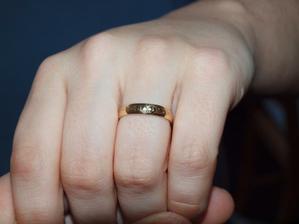 detail mého prstenu