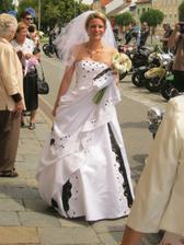 krásná nevěsta Olinka